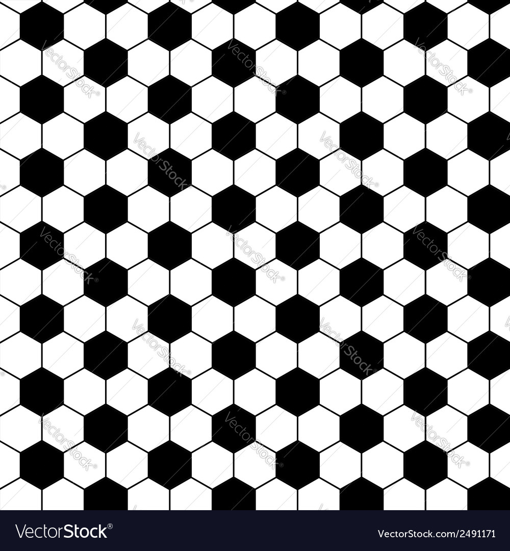 Football seamless pattern vector | Price: 1 Credit (USD $1)