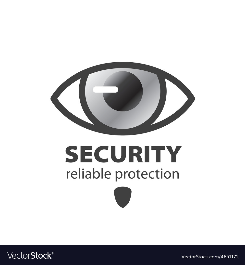 Logo eye protection and surveillance vector | Price: 1 Credit (USD $1)