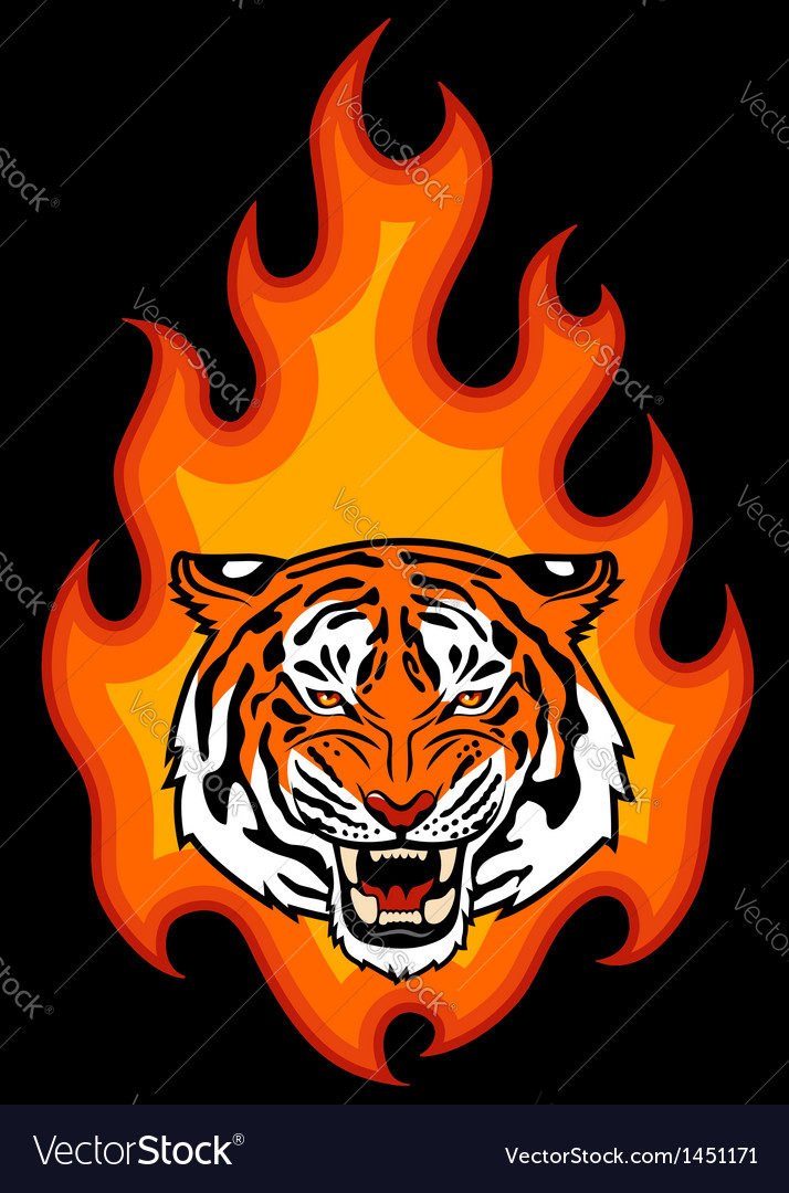 Tribal fire vector | Price: 1 Credit (USD $1)