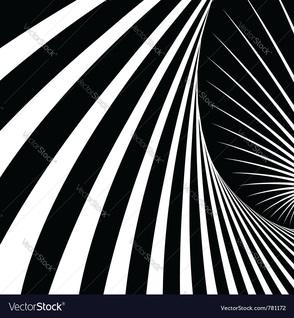 Abstract movement illusion vector | Price: 1 Credit (USD $1)