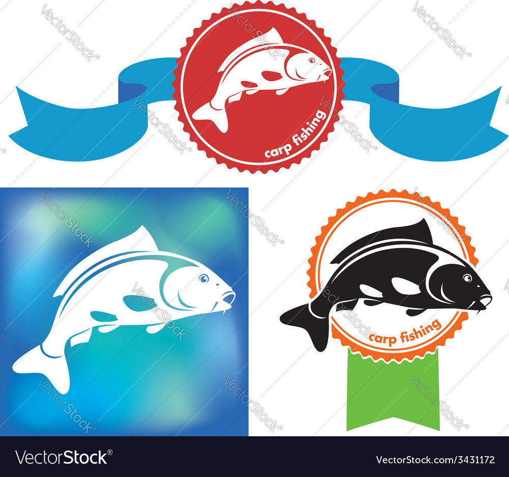 Carp icon vector | Price: 1 Credit (USD $1)