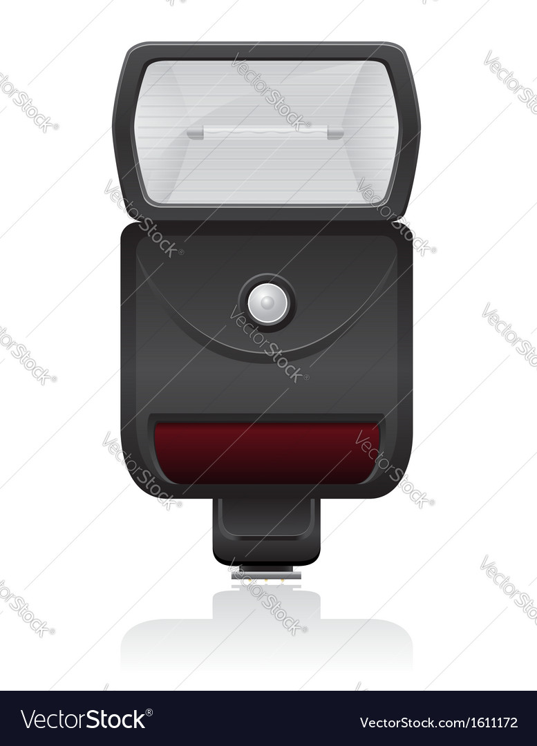 Flash photo camera 01 vector | Price: 1 Credit (USD $1)