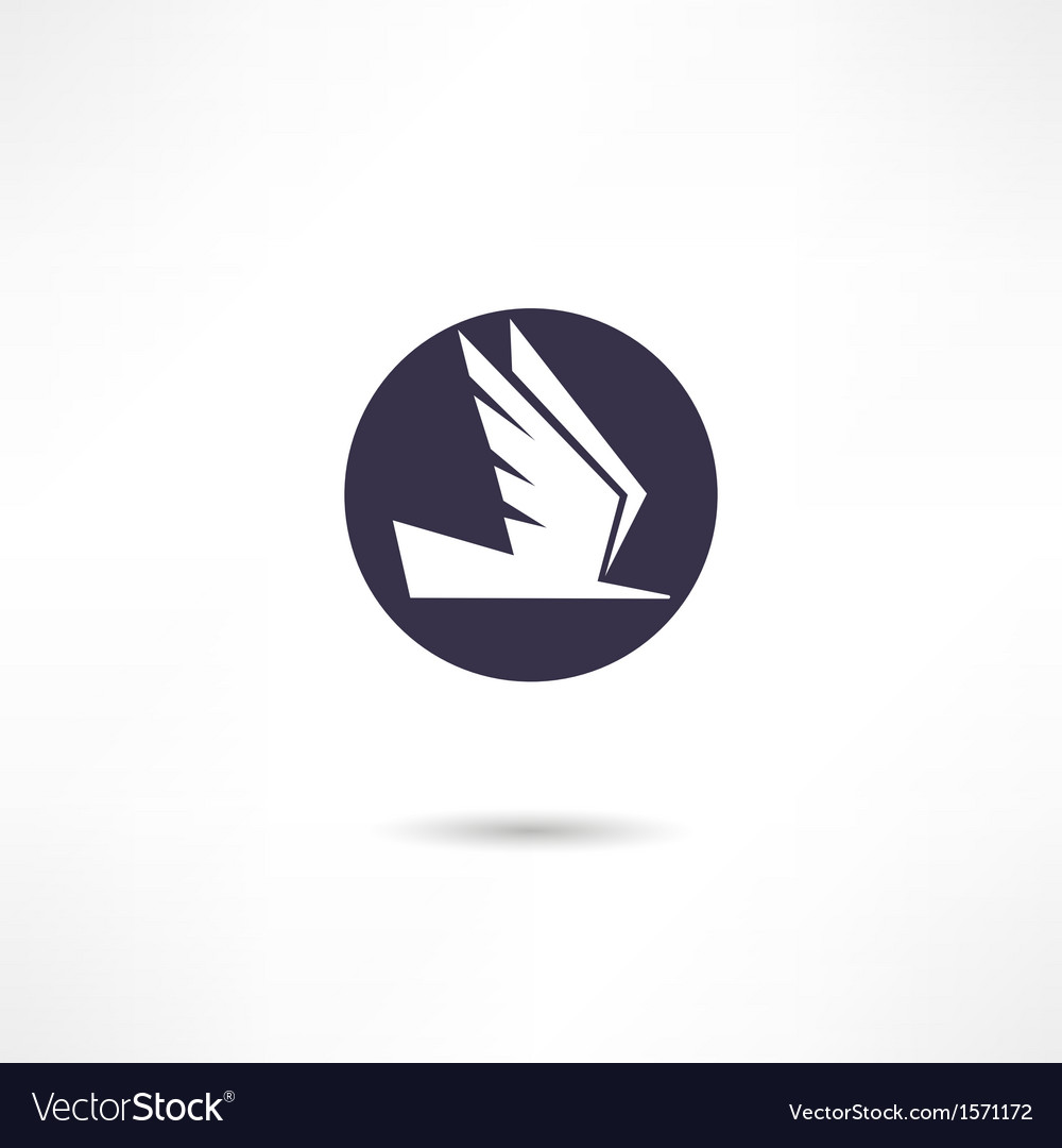 Pigeon icon vector | Price: 1 Credit (USD $1)