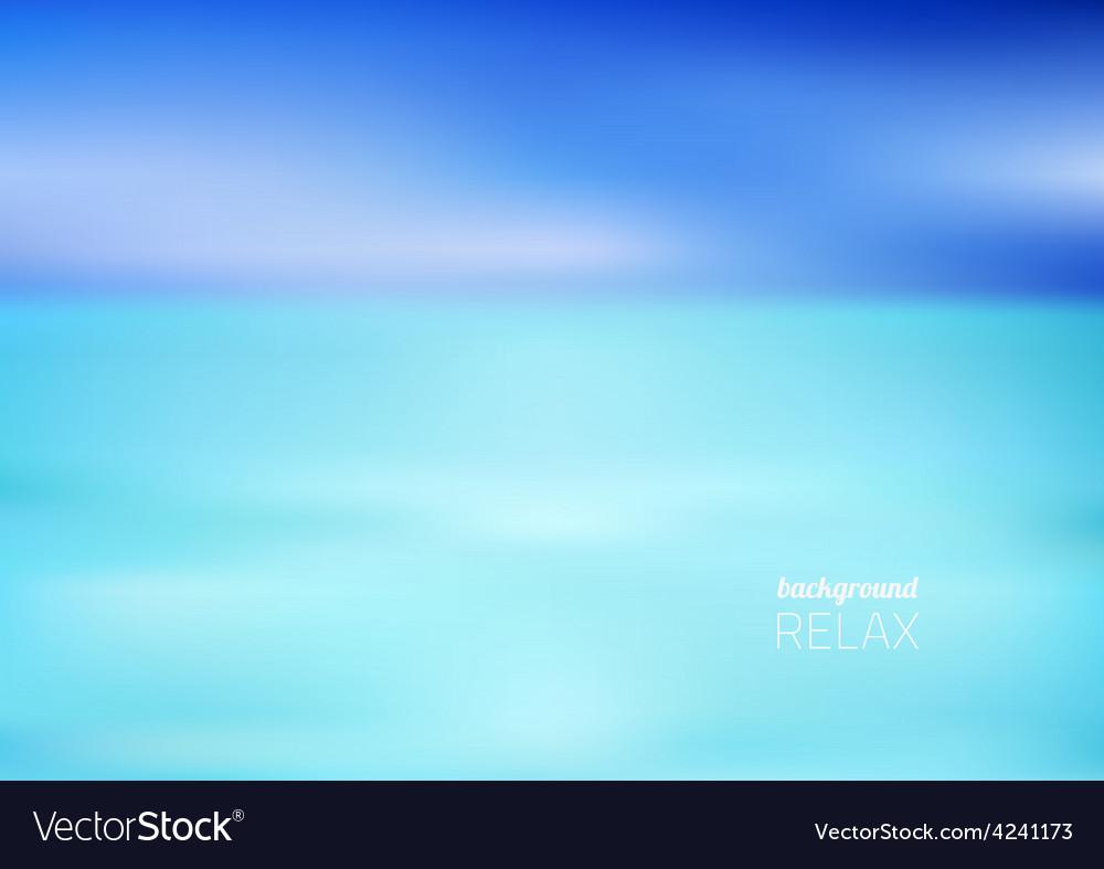 Beach sea vector | Price: 1 Credit (USD $1)