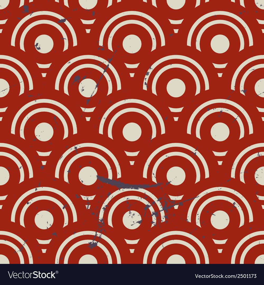 Vintage geometric seamless pattern repeat vector   Price: 1 Credit (USD $1)