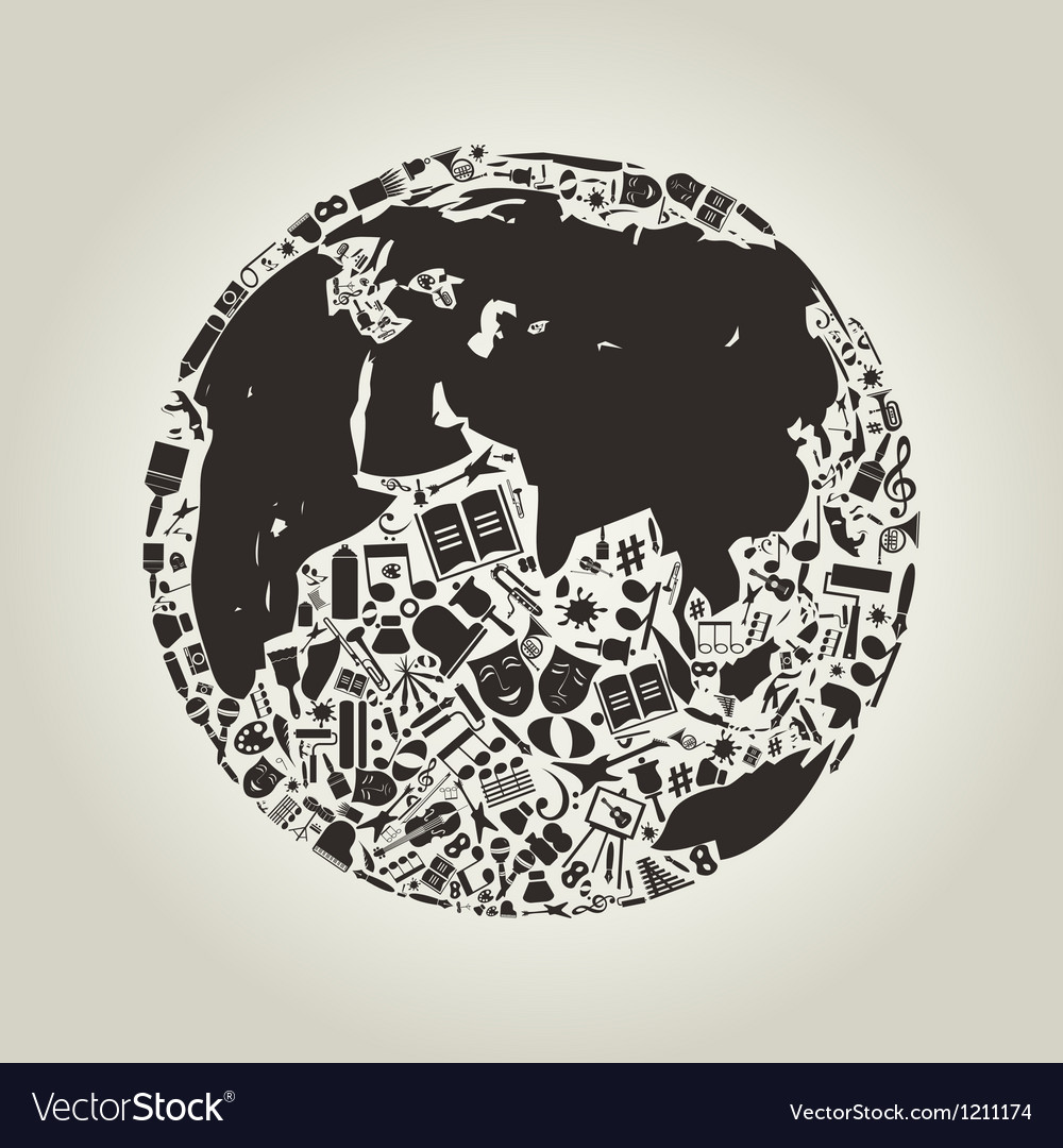 Art a planet vector | Price: 1 Credit (USD $1)