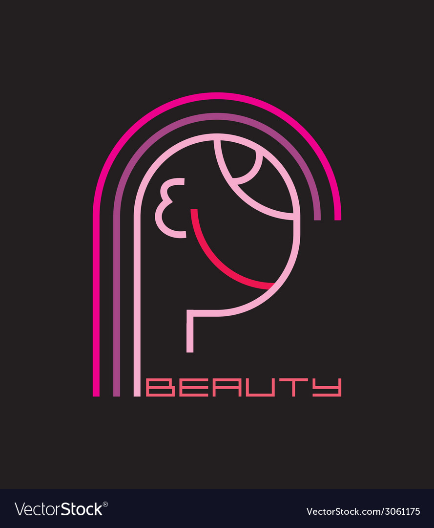 Beauty logo vector | Price: 1 Credit (USD $1)