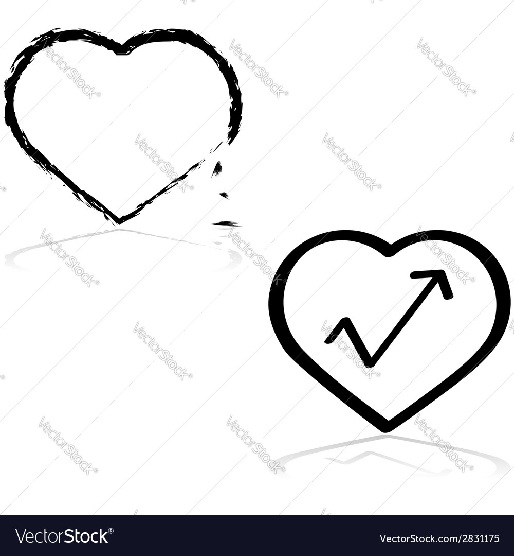 Fixing a heart vector | Price: 1 Credit (USD $1)