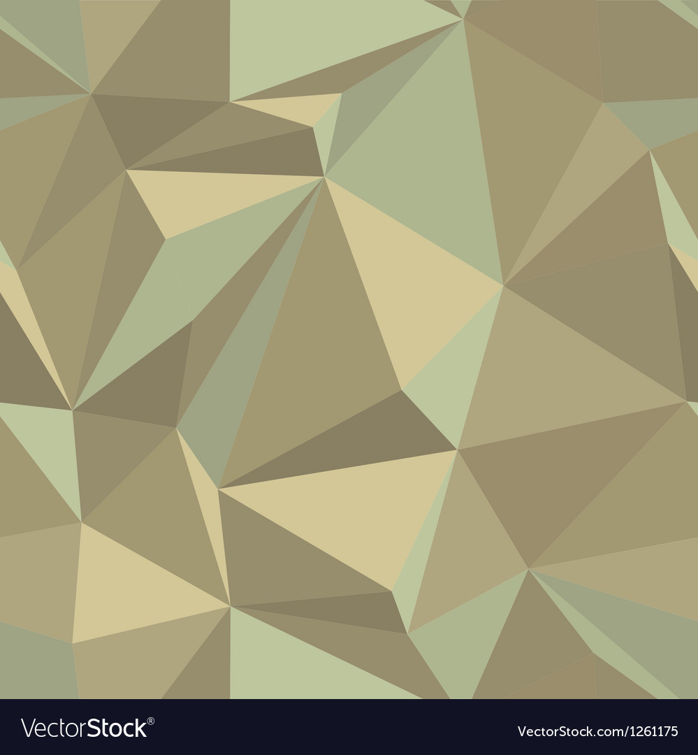 Geometric triangle mosaic pattern vector | Price: 1 Credit (USD $1)