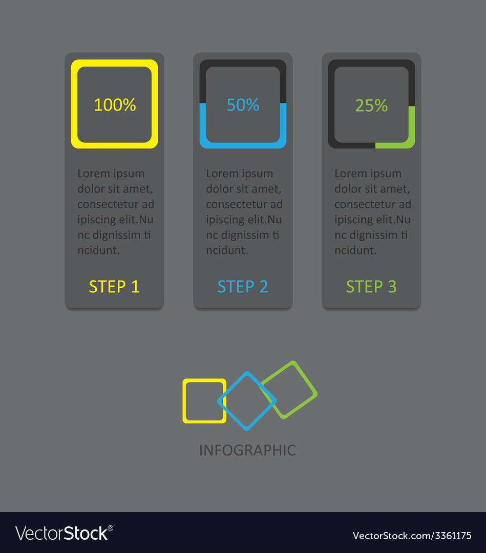 Infographic 130 vector | Price: 1 Credit (USD $1)