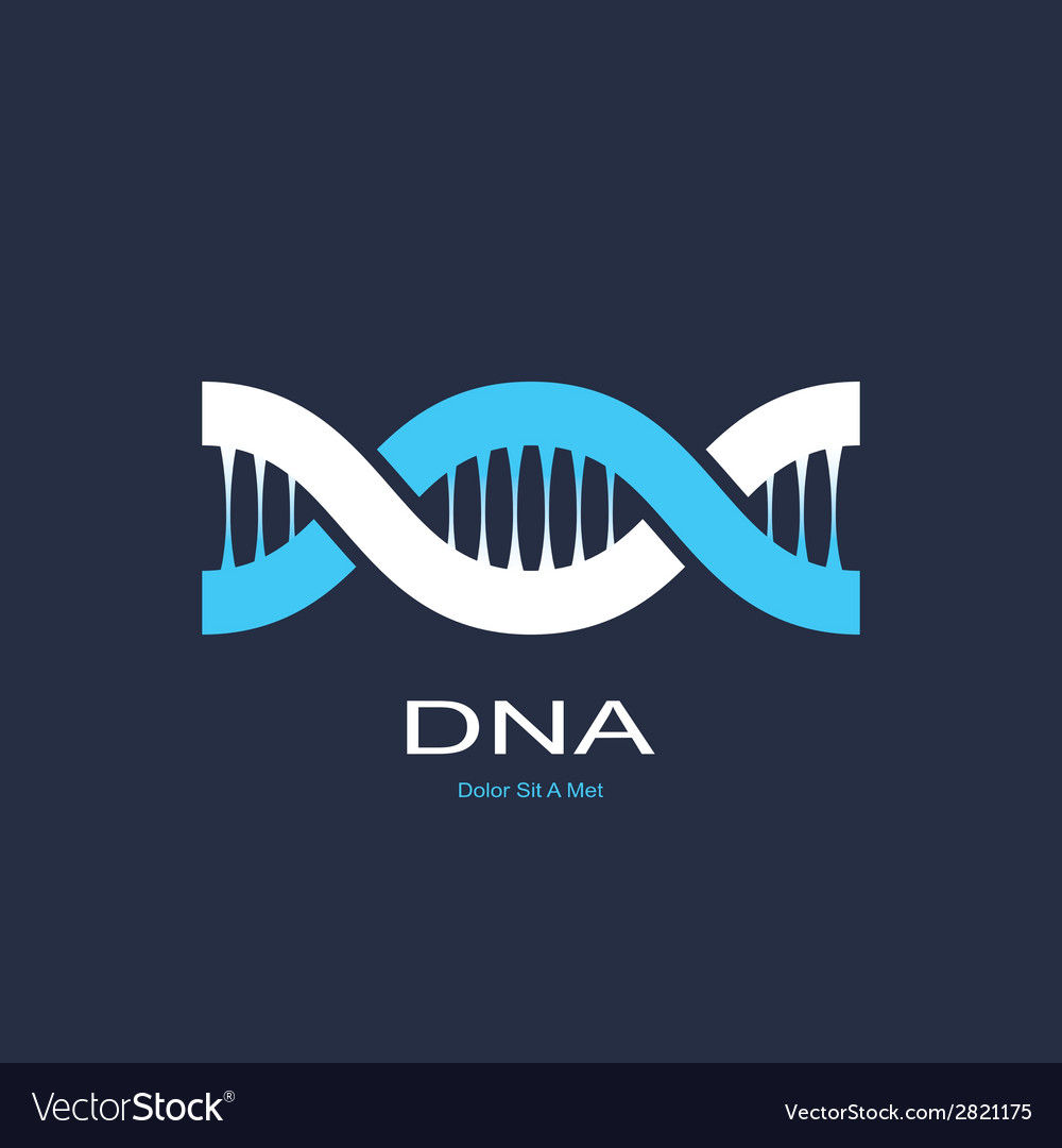Symbol of dna vector | Price: 1 Credit (USD $1)