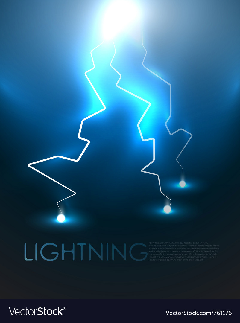 Lightning background vector | Price: 1 Credit (USD $1)