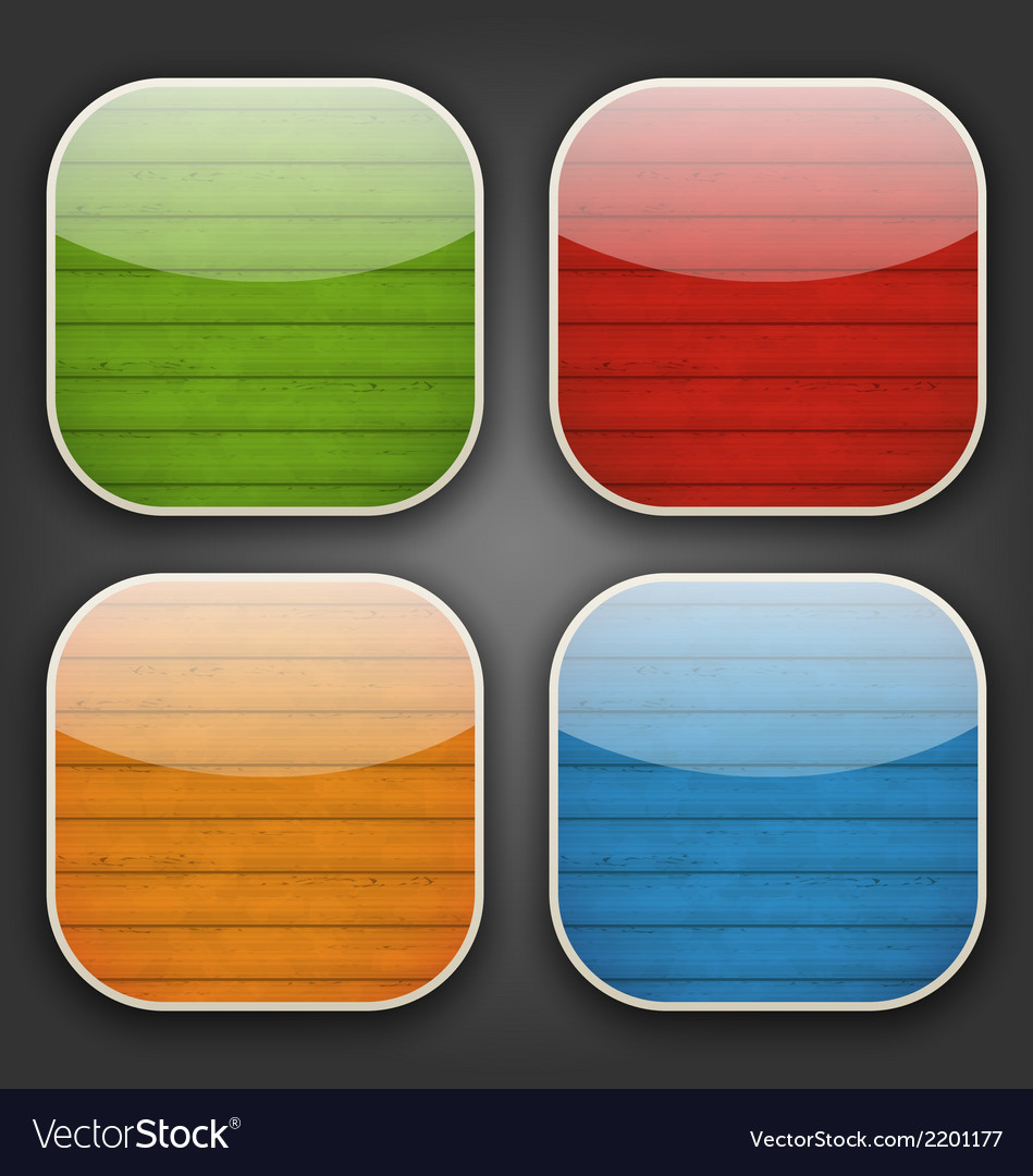 Backgrounds with colorful wooden texture for the vector   Price: 1 Credit (USD $1)