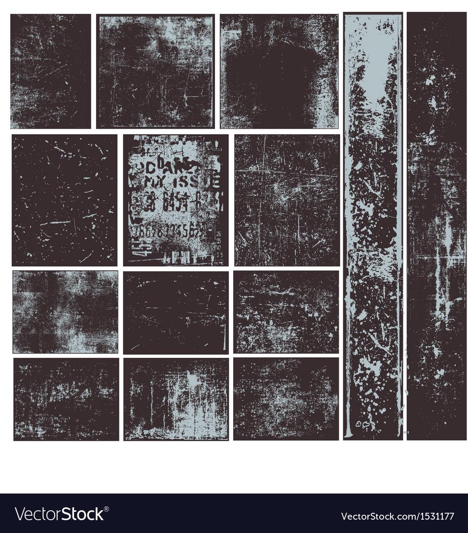 Grunge overlays vector | Price: 1 Credit (USD $1)