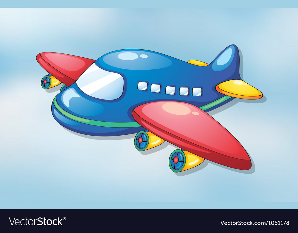 Air plane vector | Price: 1 Credit (USD $1)