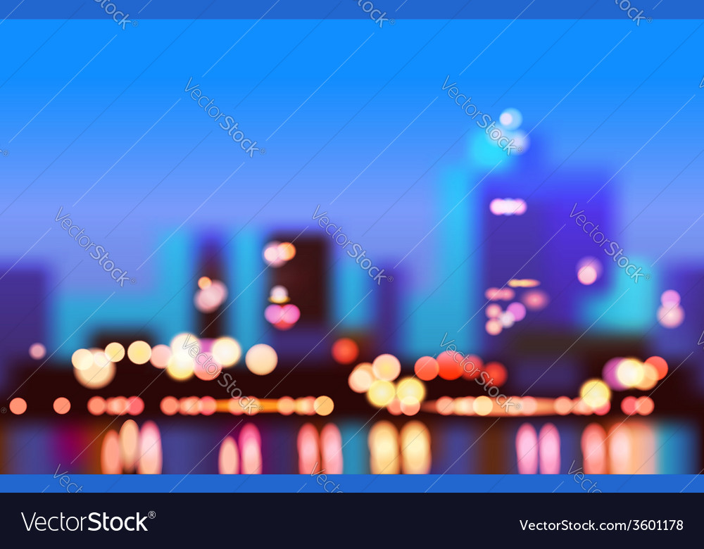 City in the morning vector | Price: 1 Credit (USD $1)