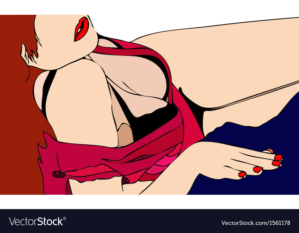 Feminine sensuality vector | Price: 1 Credit (USD $1)