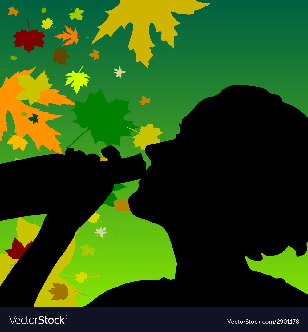 Girl drink alcohol color vector | Price: 1 Credit (USD $1)