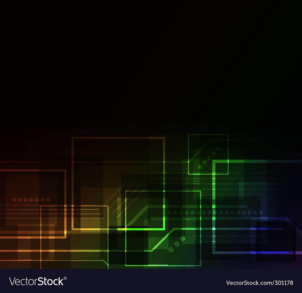 Glow background vector | Price: 1 Credit (USD $1)