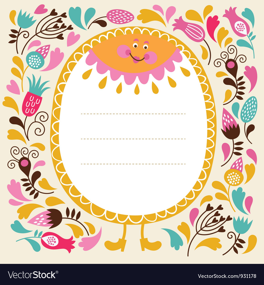 Greeting card vector | Price: 3 Credit (USD $3)