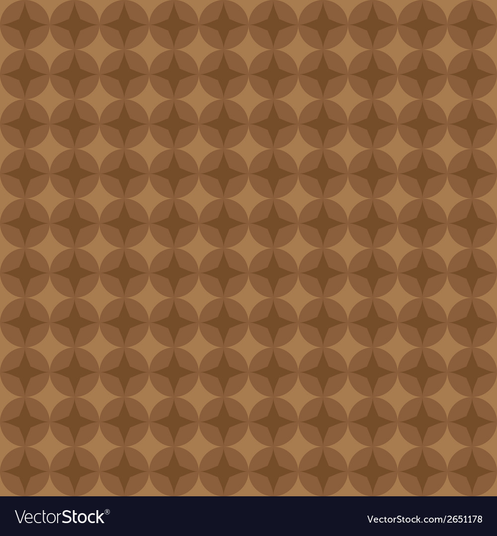 Retro brown seamless pattern eps10 vector | Price: 1 Credit (USD $1)