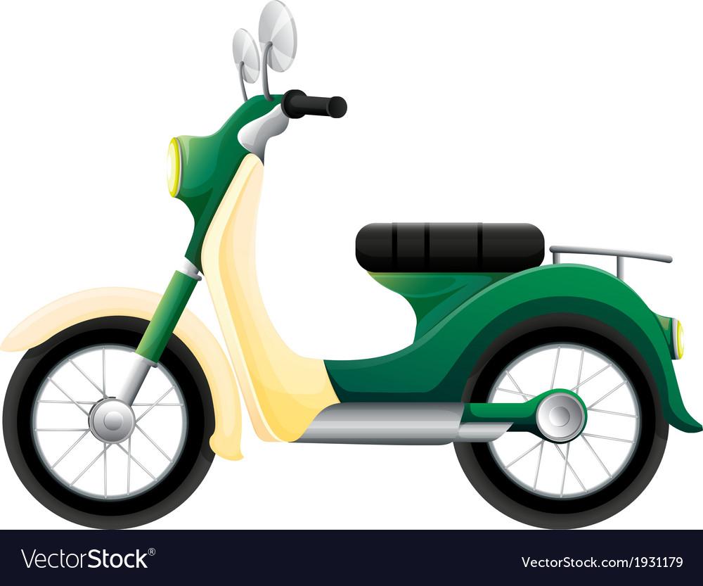A motorbike vector | Price: 1 Credit (USD $1)