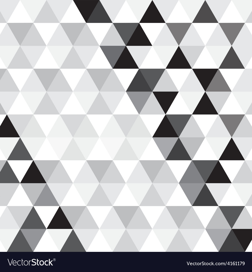 Black triangle pattern background vector | Price: 1 Credit (USD $1)