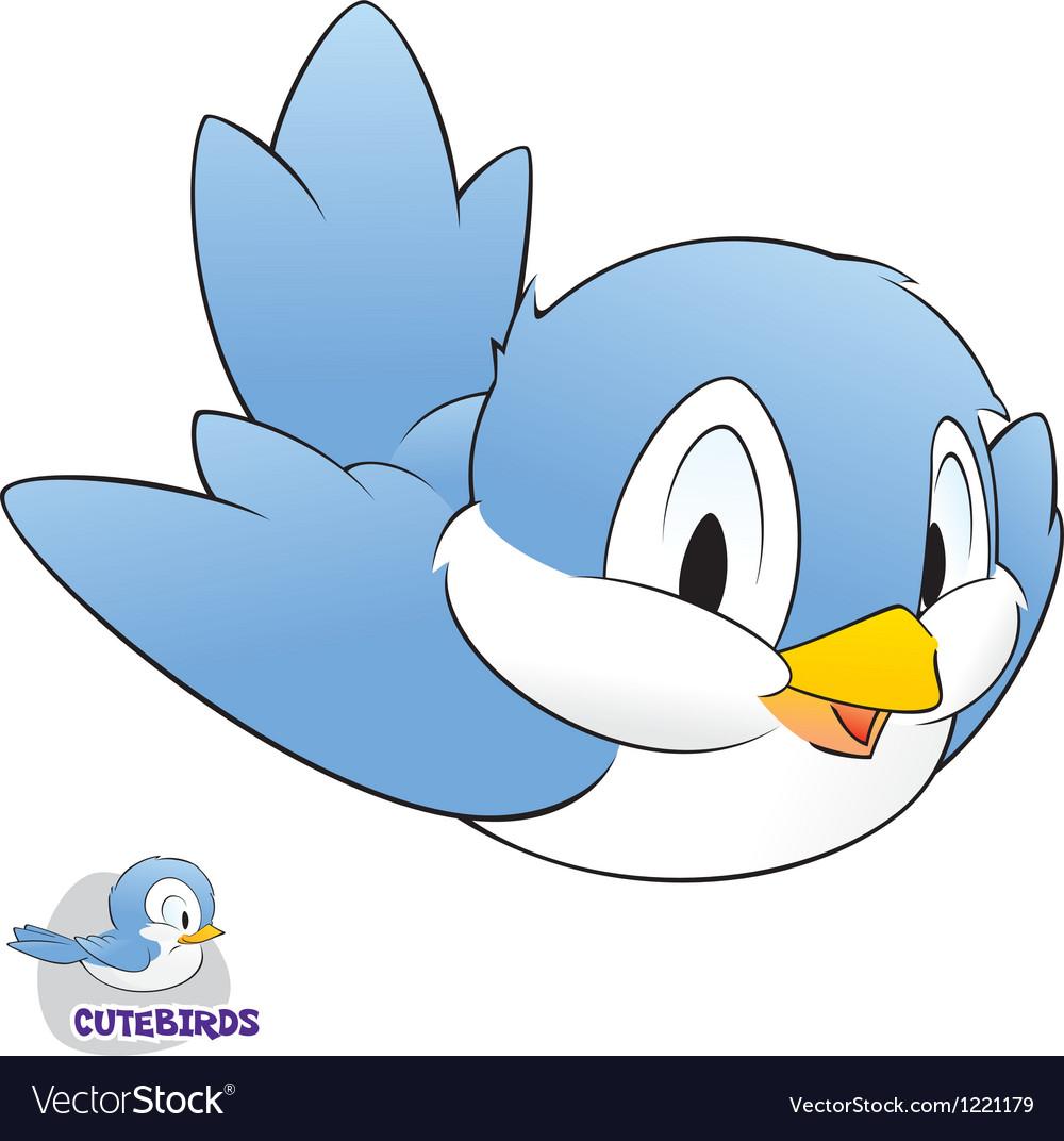 Cartoon bird vector | Price: 3 Credit (USD $3)