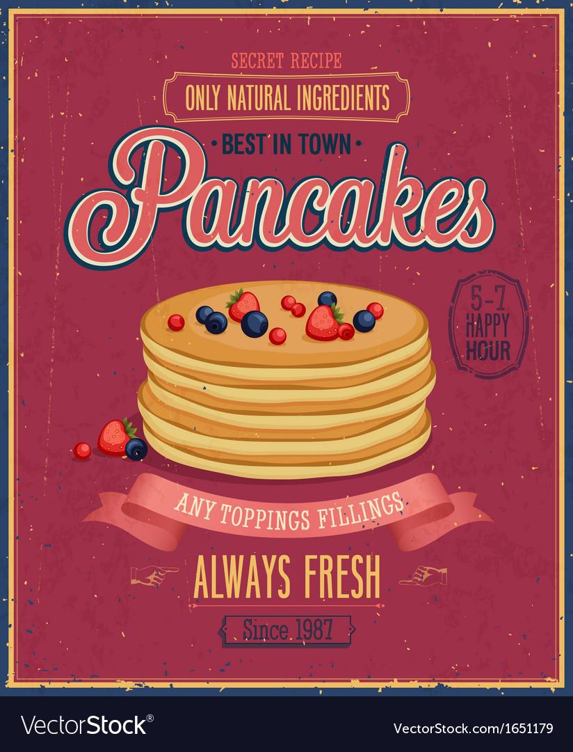 Pancakes vector | Price: 1 Credit (USD $1)