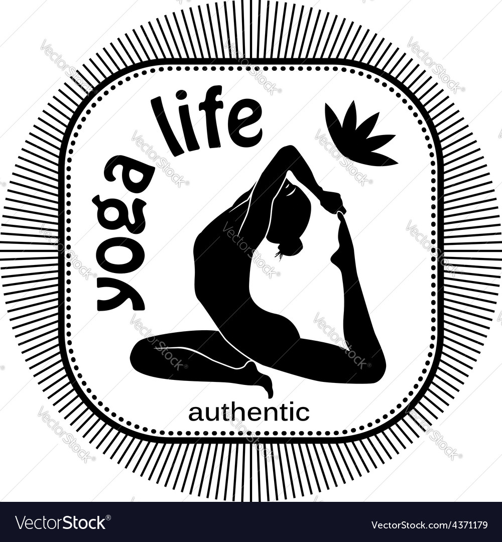 Yoga life vector | Price: 1 Credit (USD $1)