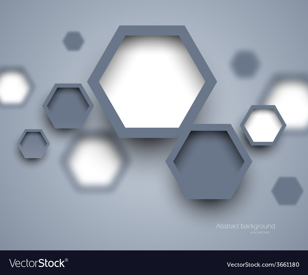 Abstract science gray background vector | Price: 1 Credit (USD $1)