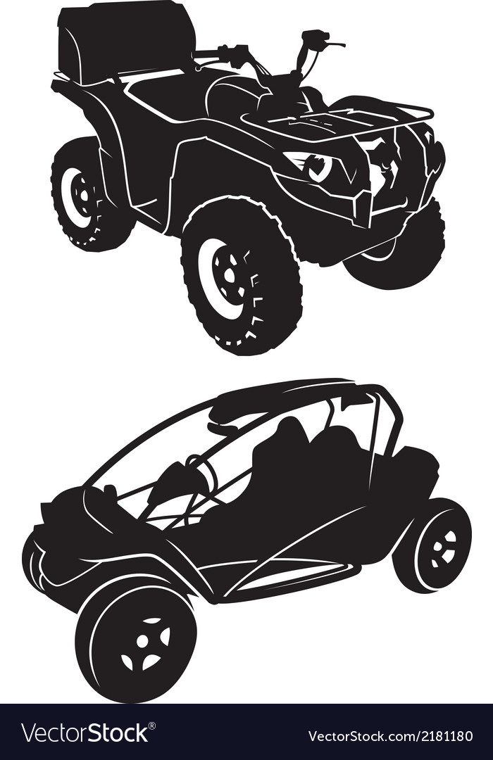 Buggies and quads vector | Price: 1 Credit (USD $1)