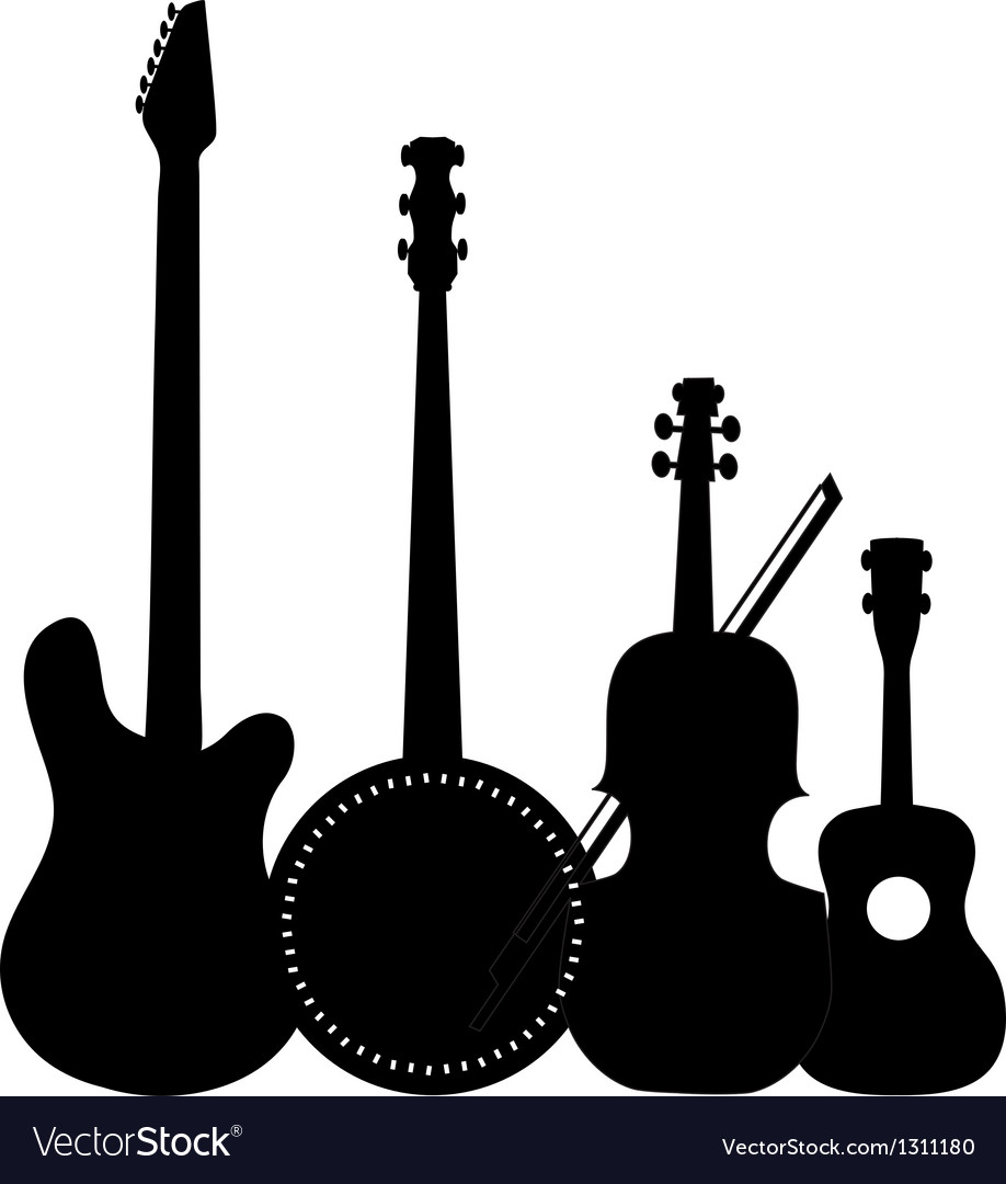 Instruments black vector | Price: 1 Credit (USD $1)