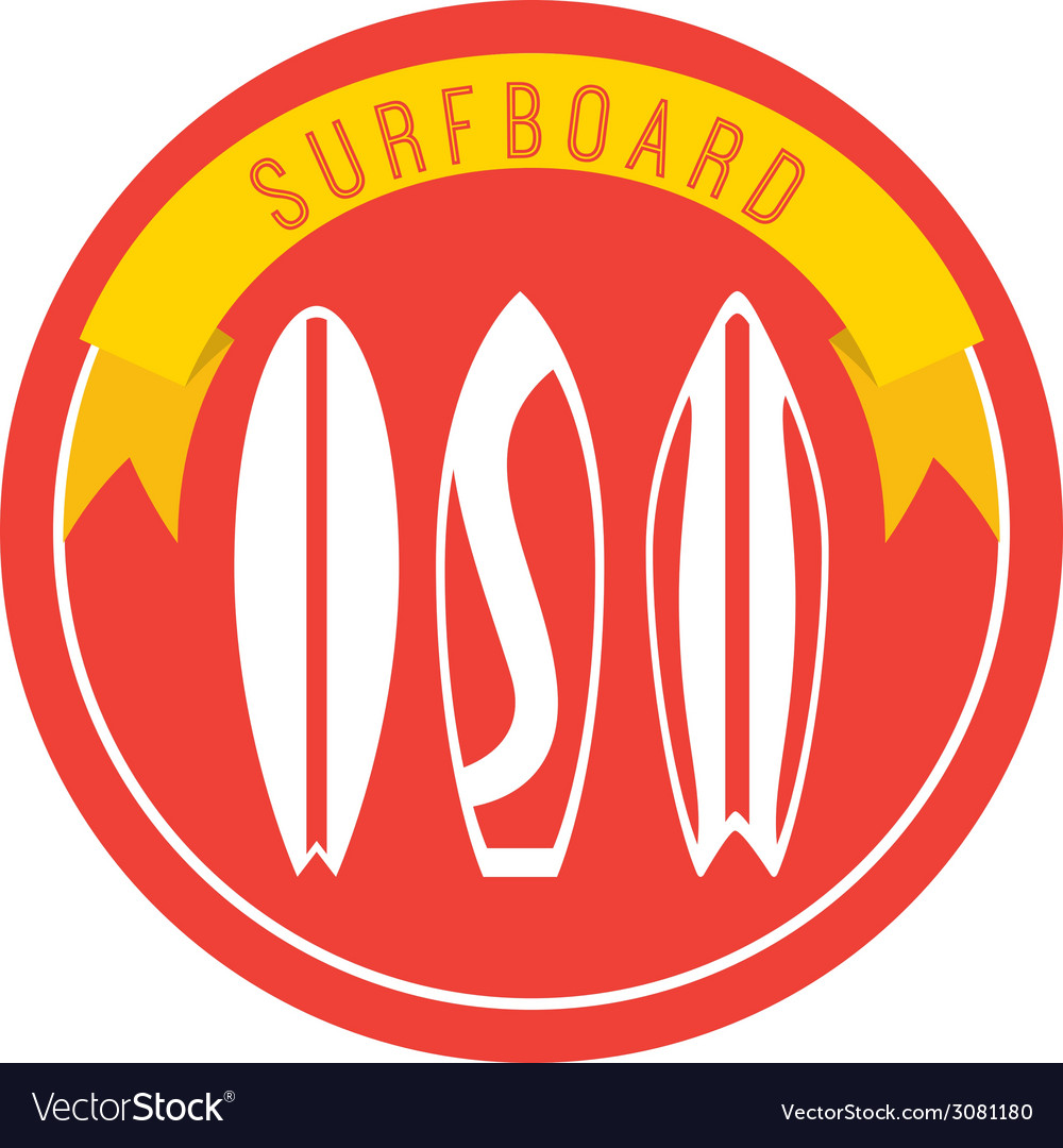 Surfing design vector   Price: 1 Credit (USD $1)