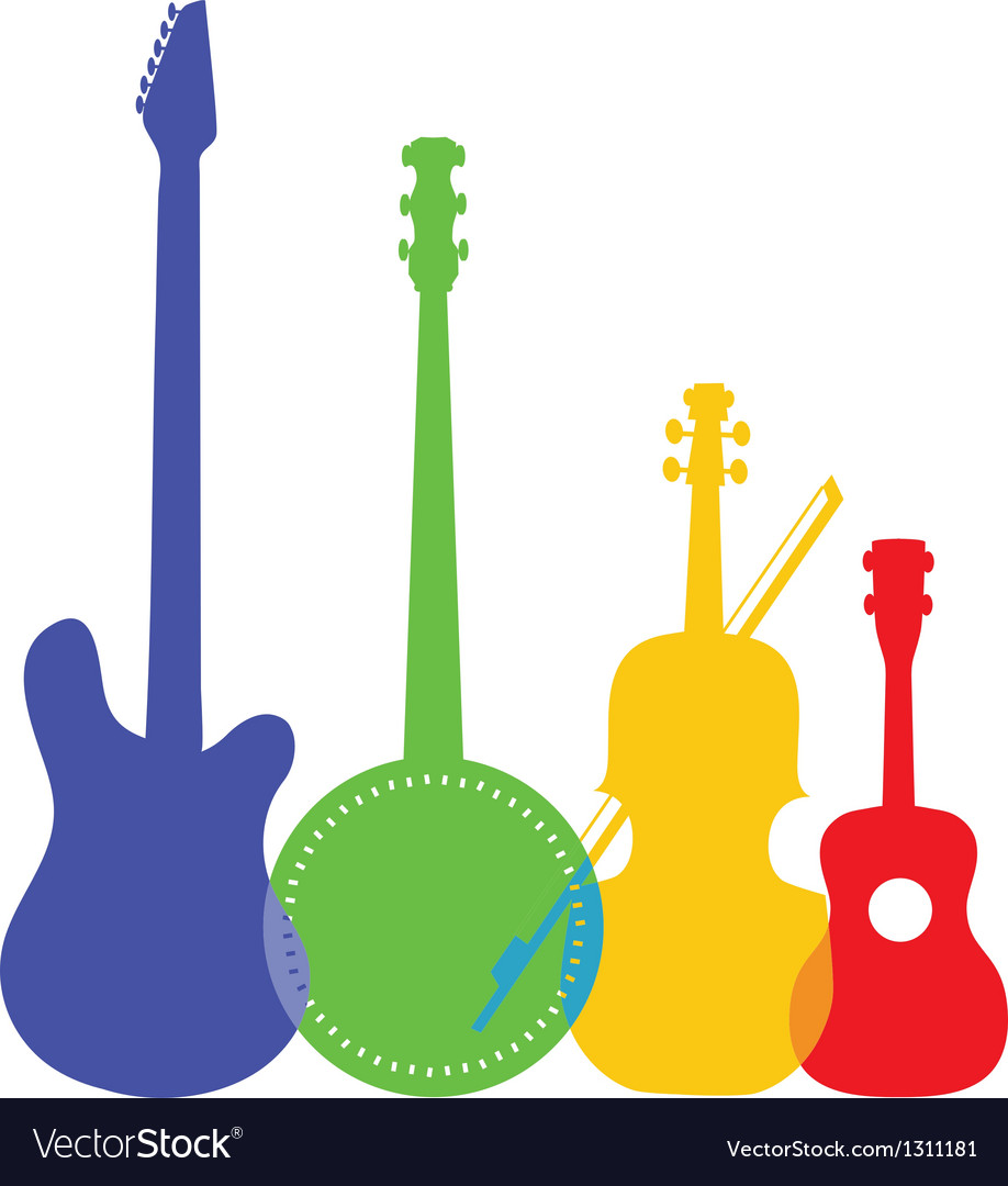 Instruments color vector | Price: 1 Credit (USD $1)