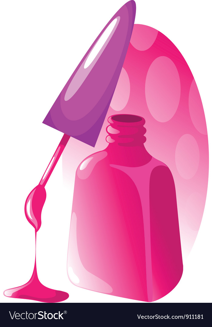 Nail polish vector | Price: 1 Credit (USD $1)