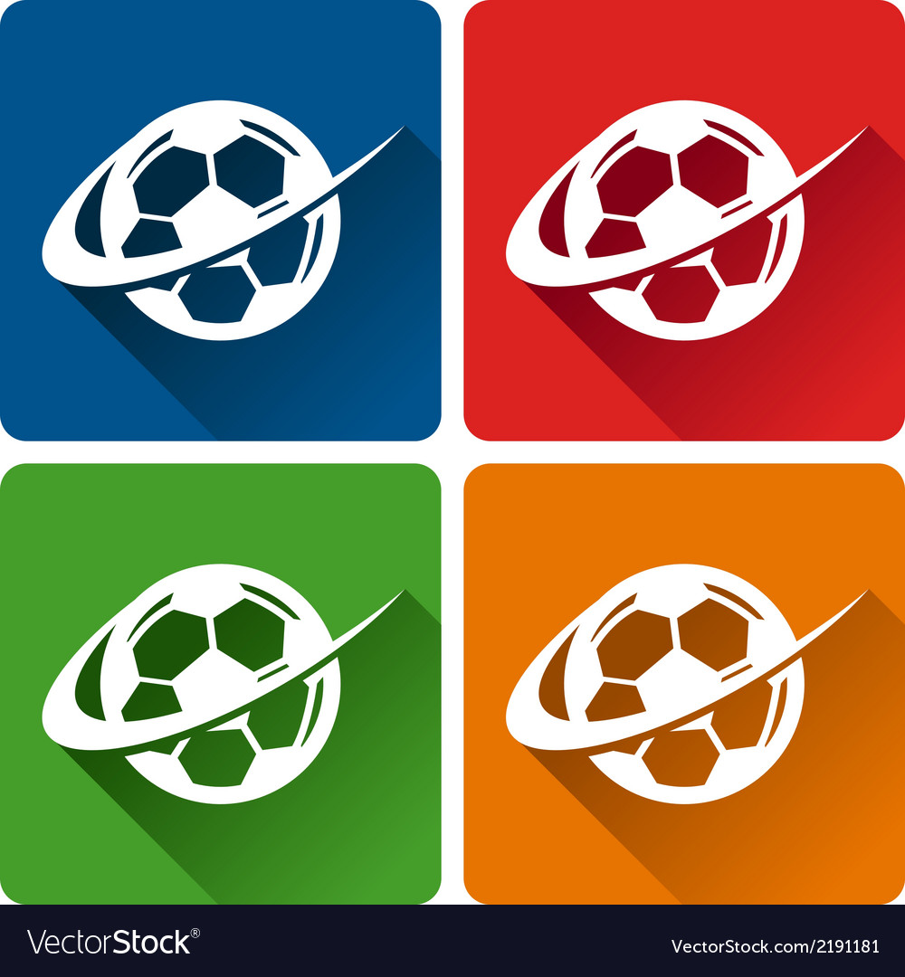 Soccer logo icons vector | Price: 1 Credit (USD $1)