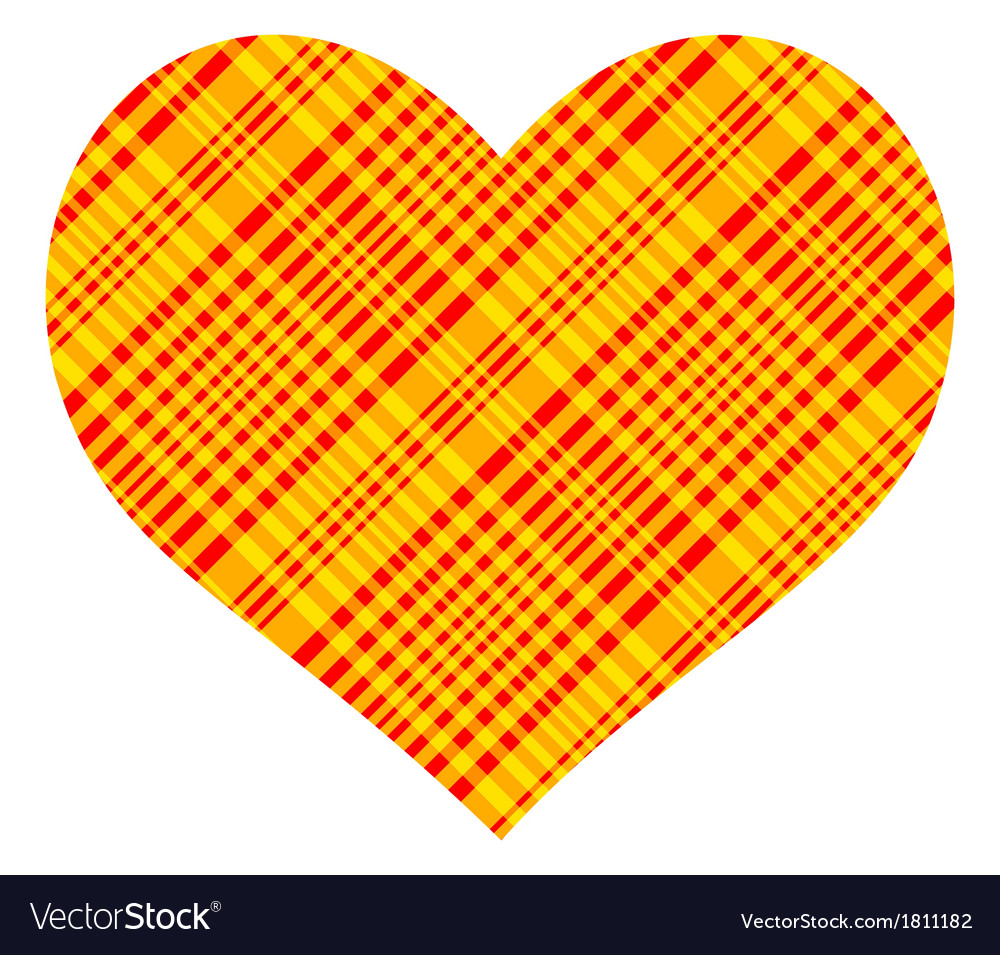Patterned heart vector | Price: 1 Credit (USD $1)