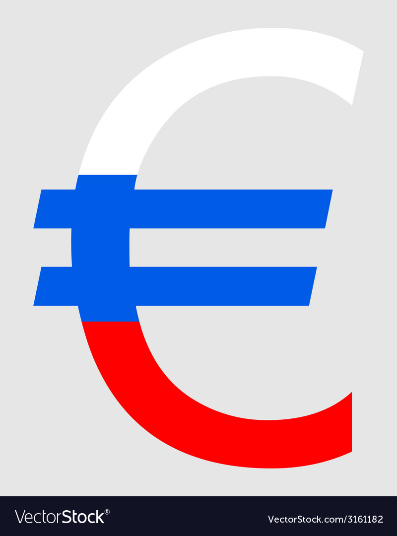 Slovenian euro vector | Price: 1 Credit (USD $1)