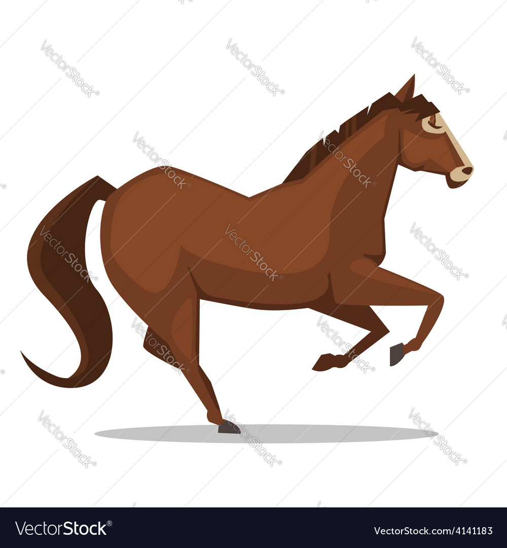 Cartoon horse vector | Price: 1 Credit (USD $1)