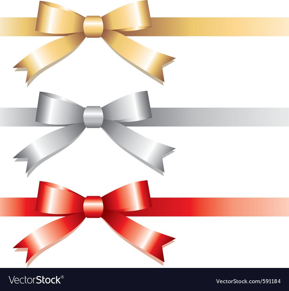 Three bows vector | Price: 1 Credit (USD $1)