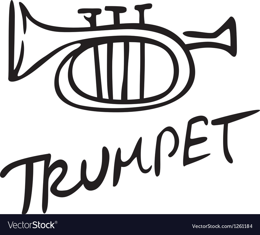 Trumpet icon vector | Price: 1 Credit (USD $1)