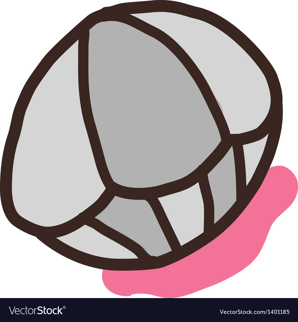 Icon clam vector | Price: 1 Credit (USD $1)