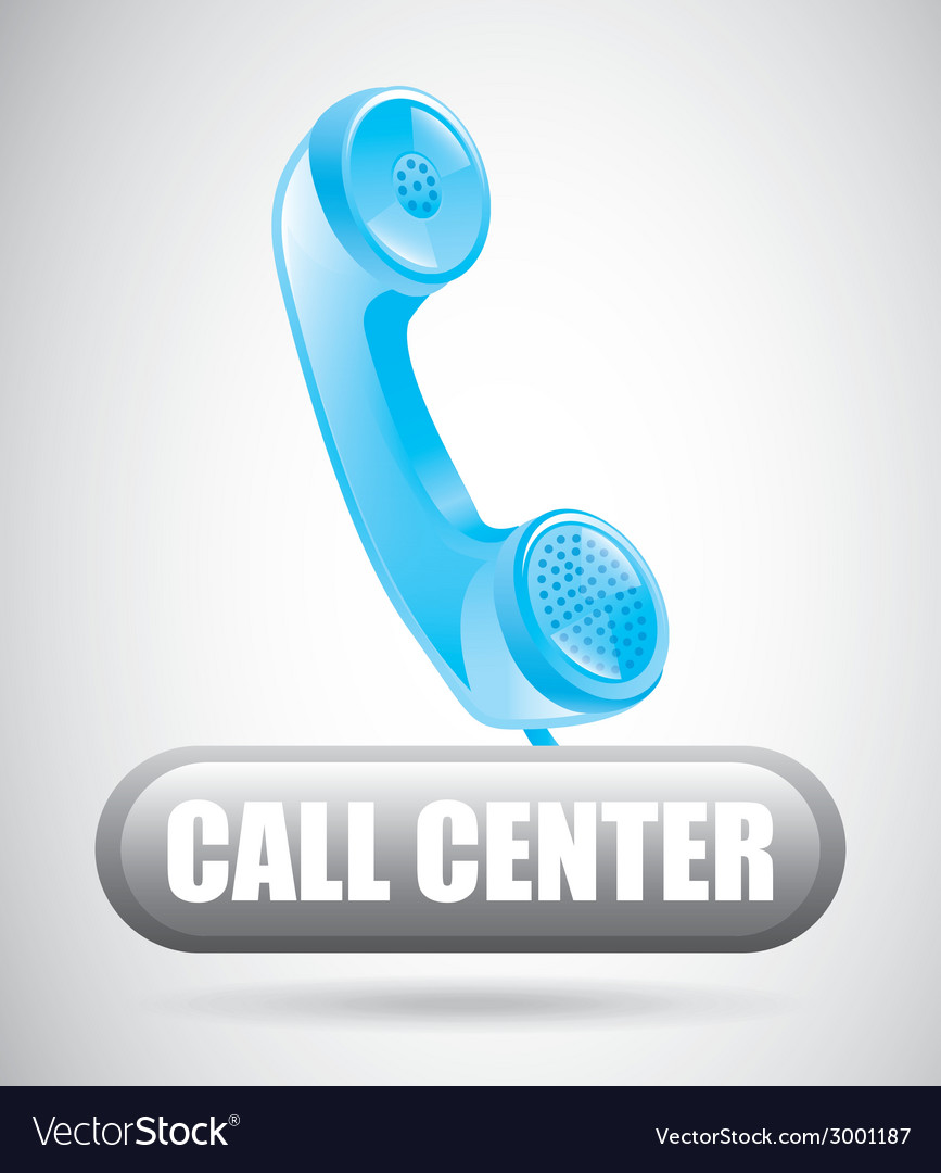 Call center design vector | Price: 1 Credit (USD $1)