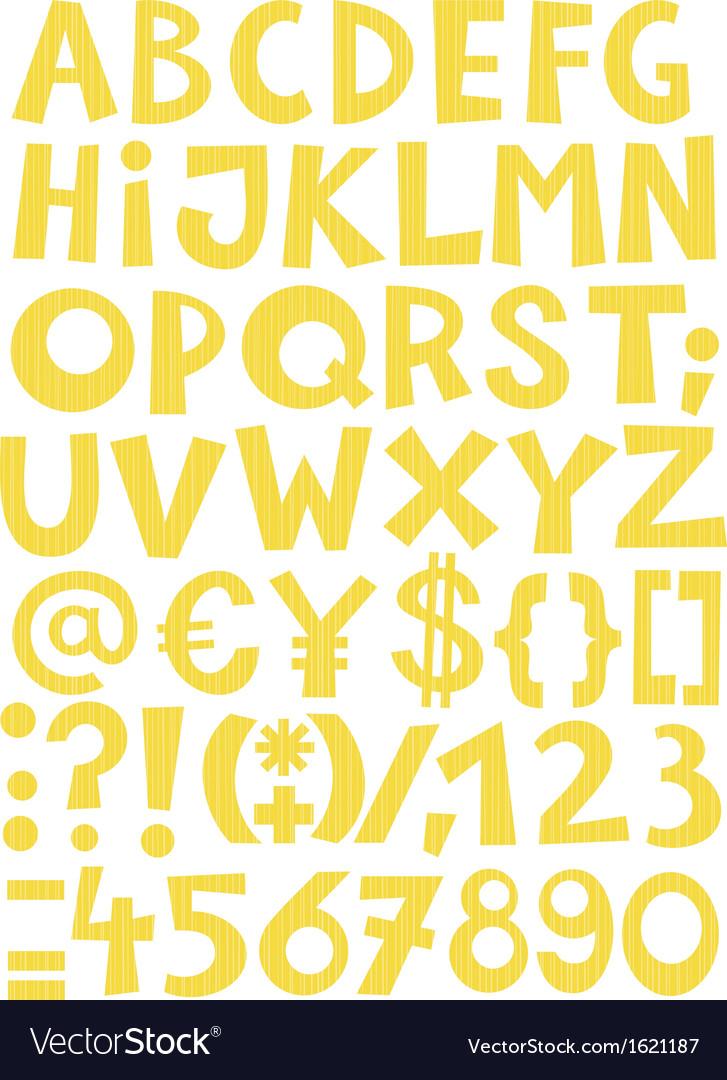 Coloured alphabet vector   Price: 1 Credit (USD $1)