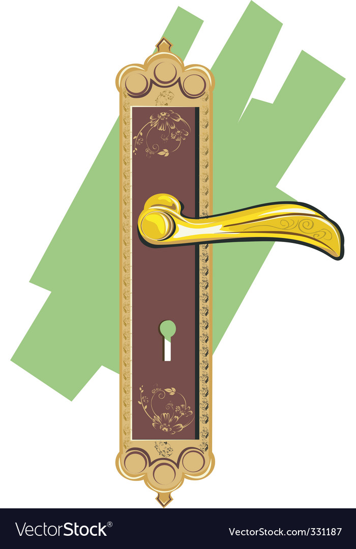 Door handle vector | Price: 1 Credit (USD $1)