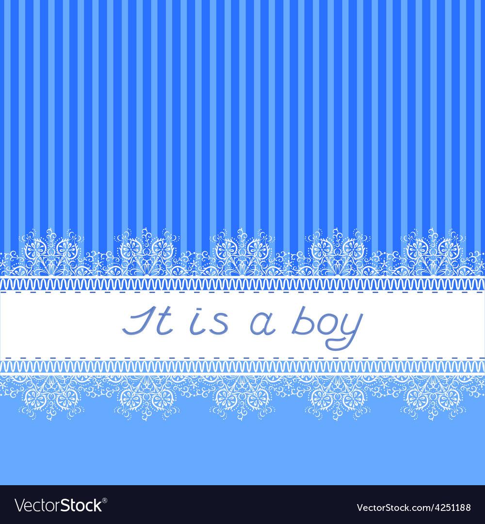 It is a boy vector | Price: 1 Credit (USD $1)