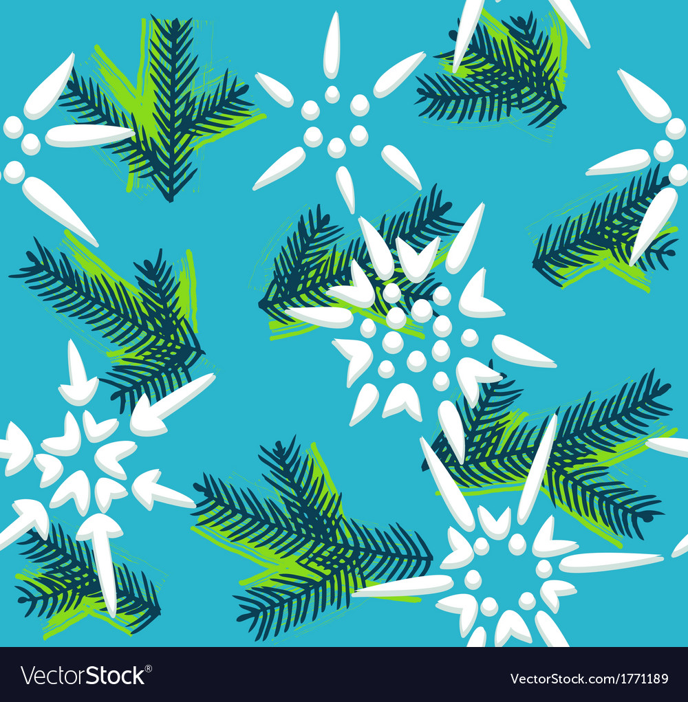 Christmas decorative seamless pattern vector | Price: 1 Credit (USD $1)