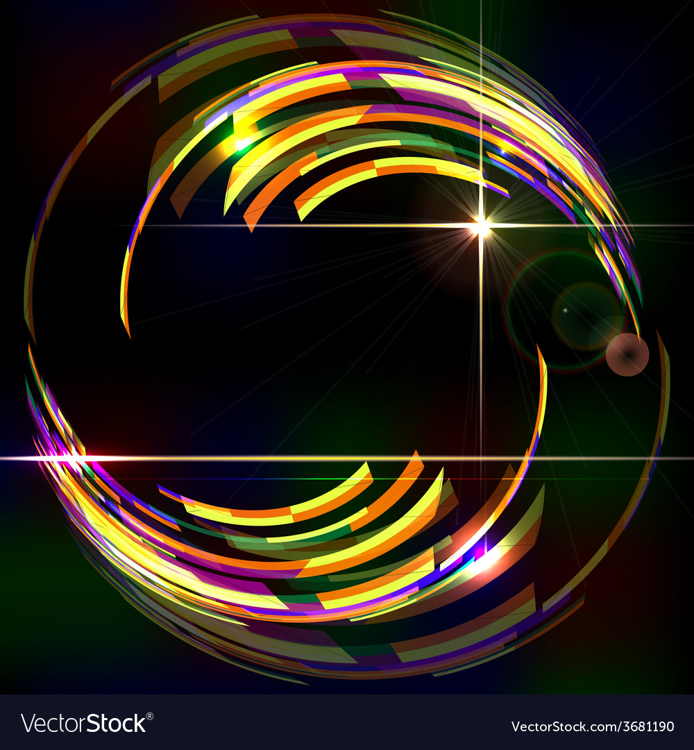 Abstract shiny technology trendy background vector | Price: 1 Credit (USD $1)