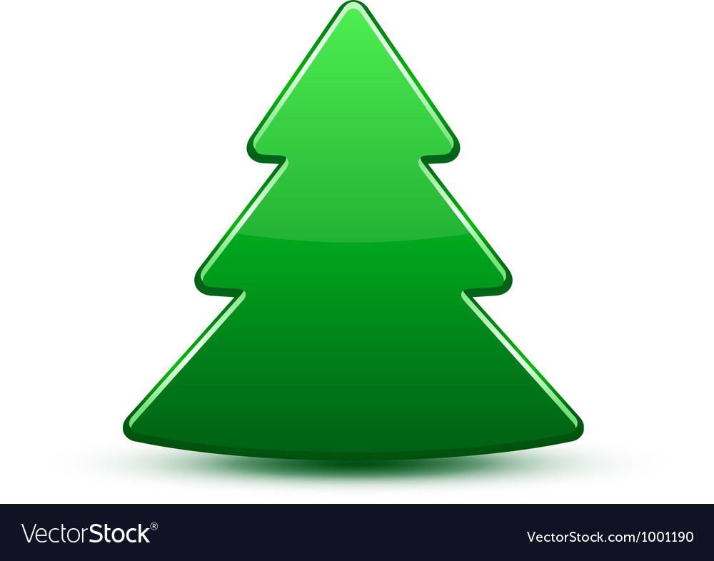 Christmas tree icon vector | Price: 1 Credit (USD $1)